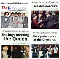 #Neverforget20121Dmemories So proud!