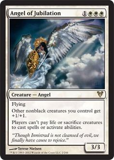 Magic: the Gathering – Angel of Jubilation (2) – Avacyn Restored