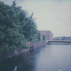 The Holyoke Canal Walk . . . . . . .  #polaroid #polaroids #impossibleproject #impossibleprojectfilm #filmisnotdead #filmphotography #polaroidisnotdead #sx70  #polaroidonestep #landscape #instantphotography #analog #analogphotography