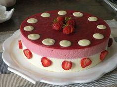 bavarois fraise chocolat blanc