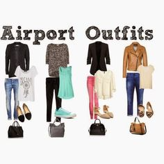 Airport Outfits - You will never want to be caught at the airport again with a h. - Airport Outfits – You will never want to be caught at the airport again with a horrible outfit. Airport Outfit Cold To Hot, Airport Outfit Long Flight, Airport Travel Outfits, Travel Outfit Summer, Airport Style, Air Travel Outfits, Business Travel Outfits, Travel Clothes Women, Airport Chic
