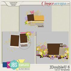 JDoubleU 6 Templates (Commercial Use)