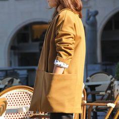 Blousette  Rose / Patron de couture moderne