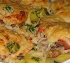 Lasagna, Chicken, Meat, Ethnic Recipes, Food, Essen, Meals, Yemek, Lasagne