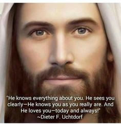 Uchtdorf: The Lord knows who you really are