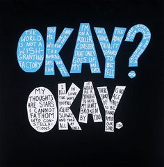 Okay? Okay. - The Fault In Our Stars Juniors T-shirt - MyTeeSpot ...