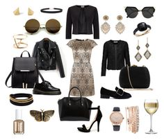 """""""099. Contest entry: Golden dress"""" by sollis ❤ liked on Polyvore featuring Givenchy, Wild Diva, Jonathan Simkhai, Serpui, Phase Eight, Dr. Martens, Dana Kellin, Humble Chic, Miguel Ases and Jessica Carlyle"""