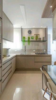 Shabby Chic Kitchen, Home Decor Kitchen, Interior Design Kitchen, Vintage Kitchen, Galley Kitchens, Home Kitchens, Compact Kitchen, Scandinavian Kitchen, Minimalist Kitchen