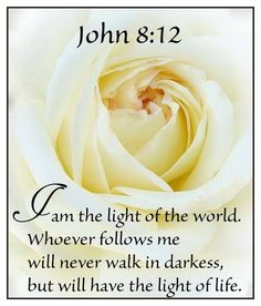 You need not walk in darkness...