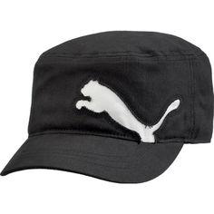 military black caps   Puma Golf Military Cap Black/White AW12   Golfposer