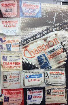 LABEL Vintage Jeans, Vintage Shirts, Vintage Outfits, Vintage Fashion, Vintage Clothing, Vintage Type, Vintage Items, Tattoo Catalog, Champion Clothing