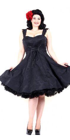 Rumor Has It Dress in Black | Blame Betty