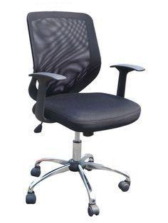 #ebay #Mesh #Back #Armchair #Base #Chair #Office #Black #Arm #Swivel #Nylon #Task #Chrome #Lattice