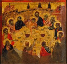 Cerchia di cimabue o artista senese, ultima cena di new orleans 01 - Cimabue - Wikipedia, the free encyclopedia