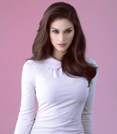 Is it true that Miss Universe 2015 Pia Wurtzbach is not allowed to answer questions about Gerald Anderson and Bea Alonzo? Bride Hairstyles, Cool Hairstyles, Miss Universe Philippines, Miss Universe 2015, Philippine Women, Filipina Beauty, Beauty Pageant, Asian Beauty, India Beauty