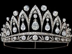 Tiara given by Tsar Alexander I to the Empress Josephine after her divorce from Napolean Bonaparte. This is one of the only tiaras ever made by Faberge.