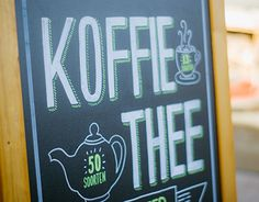 "Check out new work on my @Behance portfolio: ""Chalkboard handlettering coffeeshop Karakter"" http://on.be.net/1TpZ0Dt"