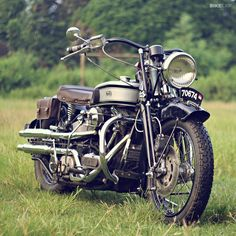 Norton inspired custom Harley Davidson Softail Springer from Indonesia #motorcycle #motorbike