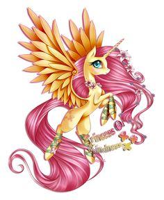 MLP - Princess Fluttershy My Little Pony Princess, Mlp My Little Pony, My Little Pony Friendship, Princess Cadence, Flame Princess, Princess Celestia, Princess Bubblegum, Dessin My Little Pony, My Little Pony Drawing