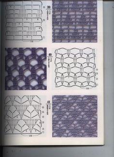puntos de crochet,  puntos a crochet, puntos crochet, puntos crochet, crochet…
