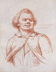Danton conduit à l'échafaud. Dessin à la sanguine (1794) d'Alexandre Wille. (Musée Carnavalet, Paris.)
