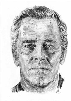 Pencil Portraits - Henry Fonda par - Discover The Secrets Of Drawing Realistic Pencil Portraits.Let Me Show You How You Too Can Draw Realistic Pencil Portraits With My Truly Step-by-Step Guide. Realistic Pencil Drawings, Amazing Drawings, Colorful Drawings, Art Drawings, Portrait Au Crayon, Pencil Portrait, Portrait Art, Gravure Illustration, Star Illustration