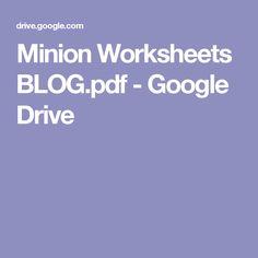 Minion Worksheets BLOG.pdf - Google Drive