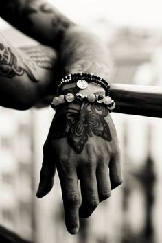 Beads and Tats.  Style is knowing who you are, What you want to say, and not giving a damn. ~ Gore Vidal  ---> FOLLOW US ON PINTEREST for Style Tips, Men's Basics,  Men's Essentials on anything, OUR SALES etc... ~ VujuWear