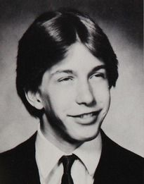 Stephen Baldwin in his 1984 yearbook at Berner high school in Massapequa, New York.  Heeheehee Oh Stephen!!