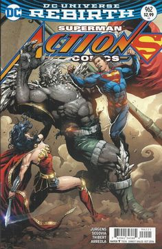 DC Universe Rebirth Superman Action Comics issue 961 Limited variant