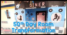 Welcome to the 1950's room transformation to celebrate the 50th day of Kindergarten. Most importantly, I hope you get some easy 50th day of school ideas.