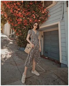 summer dress of my dreams. head to toe in Korean Summer Outfits, Korean Fashion Summer, Korean Girl Fashion, Korean Fashion Trends, Korean Street Fashion, Ulzzang Fashion, Asian Fashion, Ootd Summer Casual, Summer Outfits For Vacation