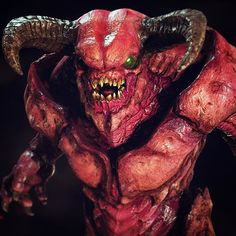 #BaronofHell I modelled & textured for #DOOM !! Base & initial iteration by Cliff Young #monster #demon #hell #idsoftware #bethesda #instaart #artoftheday #creatureart #3dart #videogames #instagamer #bigboy #zbrush #sculpt #maya #3dmodel #fightlikehell #hell #3dmodeling #zsculpt #pixologic #gamedev