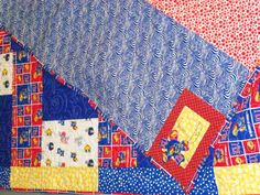 KU Kansas Jayhawks quilt | Flickr - Photo Sharing!