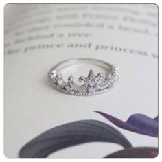 Princess Crown Ring!! Cant decide if I like the Tiara or the actual crown...