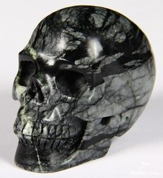 Chinese Picasso Jasper Crystal Skull