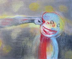 The strange, intense paintings of Miriam Cahn. Aya Takano, Hope Art, Art Archive, My Tumblr, Cool Artwork, Figurative Art, Dark Art, Contemporary Artists, Painting Inspiration