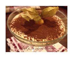 image Tiramisu, Dessert Recipes, Sugar, Ethnic Recipes, Image, Food, Cream, Mascarpone, Essen