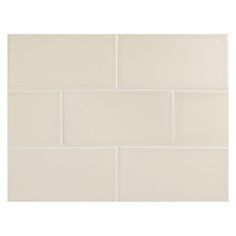 "Complete Tile Collection Vermeere Ceramic Tile - Suede - Matte, 3"" x 6"" Manhattan Ceramic Subway Tile, MI#: 199-C1-311-841, Color: Suede"