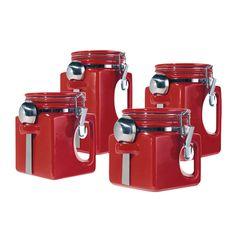 utensílios de cozinha vermelho - Pesquisa Google