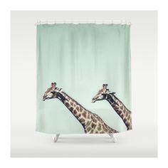 Giraffes Shower Curtain by VQSTUDIO™