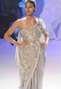 Gaurav Gupta's sarees and sareesque dresses