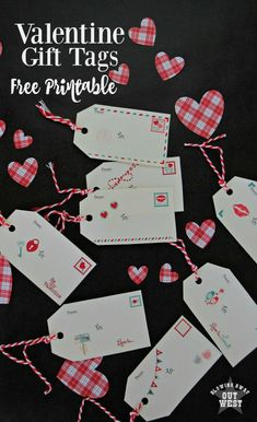 Valentine's Day Gift Tags: Send Your Love Free Printables | blowingawayoutwest.com -* 8 Unique Valentine's Day Gift Tags Free to Print #Valentinesdaygifttags #valentinesdayprintable #valentinesday #printablegifttags #gifttags