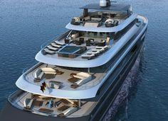 Ivan Erdevicki and Nobiskrug unveil superyacht project Adamantine - Design - SuperyachtTimes.com