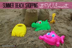We love going to the beach during the summer! What do you and your family enjoy doing during the summer? We headed to Walmart to buy the essentials and we had a great day at the beach! #cbias #shop