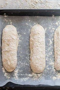 Recipe Homemade bread: Basic bread dough (quick and simple) Ciabatta, Antipasto, Biscotti, Focaccia Pizza, Easy Bread, Wonderful Recipe, Zucchini Bread, Bread Recipes, Food And Drink
