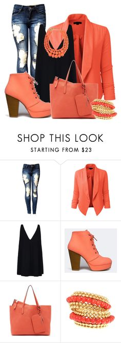 """Untitled #48"" by iamaddad on Polyvore featuring LE3NO, STELLA McCARTNEY, Qupid and Splendid"