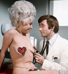 Barbara Windsor, Jim Dale & Hattie Jacques in Carry on Again Doctor Sidney James, Jim Dale, Kenneth Williams, Barbara Windsor, British Comedy, British Actors, Old Actress, Golden Age Of Hollywood, Celebs