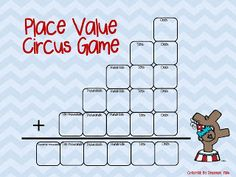 FREE Place Value Game students will beg to play!