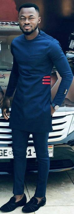 African men clothing, African groom suit, African attire, Dashiki for men. Men's fashion news and ty African Wear Styles For Men, African Shirts For Men, African Dresses Men, African Attire For Men, African Clothing For Men, Latest African Fashion Dresses, Ankara Fashion, African Style, African Women